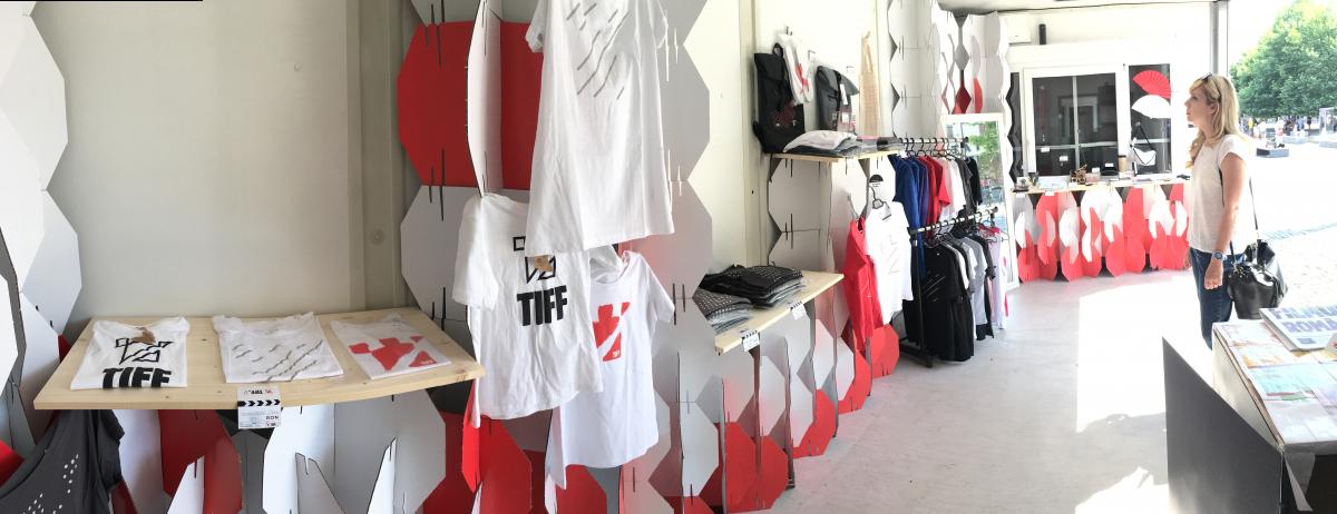 TIFF shops management - Mondevents