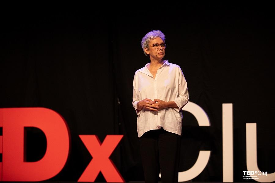 TEDxCluj 2019 Mondevents Oana Pellea
