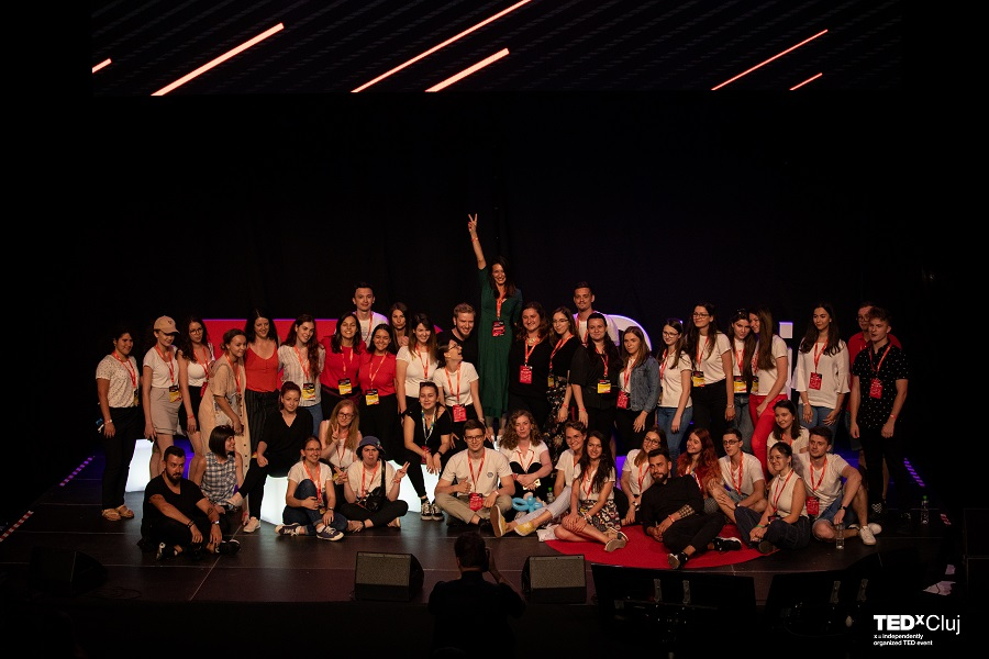 TEDxCluj 2019 Mondevents voluntari